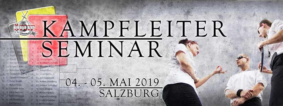 Salzburg, Kampfleiterseminar @ Sportzentrum Mitte | Salzburg | Salzburg | Österreich