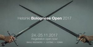 (FI) Helsinki, 5th Bolognese Open 2017 for Sidesword @ Historiallisen Miekkailun Seura EHMS | Helsingfors | Finnland