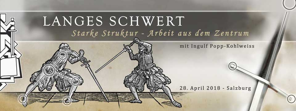 Salzburg, Seminar Langes Schwert - Arbeit aus dem Zentrum @ Sportzentrum Mitte | Salzburg | Salzburg | Österreich
