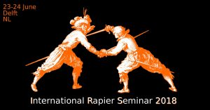 (NL) Delft, 5th International Rapier Seminar 2018 for Rapier (and Dagger), also some Tournaments with Rapier @ Sporthal De Buitenhof | Delft | Zuid-Holland | Niederlande